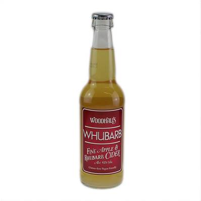 Woodhalls Apple & Rhubarb Craft Cider (4%)