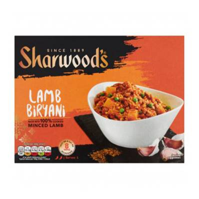 Sharwoods Lamb Biryani Ready Meal