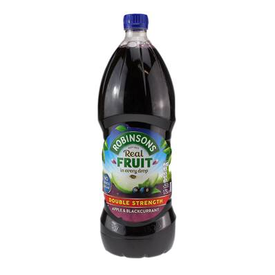 Robinsons Apple & Blackcurrant DBL Conc
