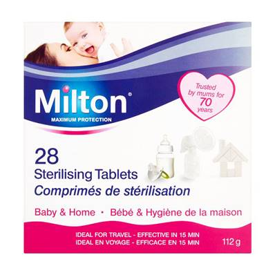 Milton Maximum Protection Sterilising Tablets