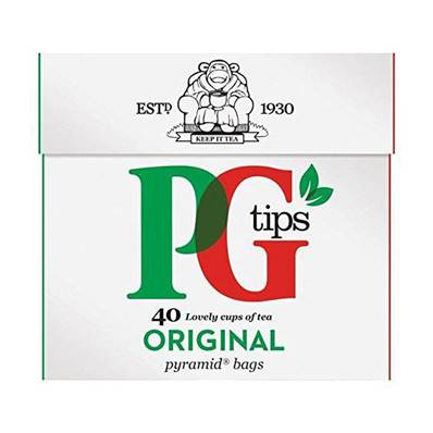 Pg Tips Tea Bags 40's
