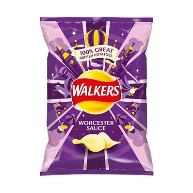 Walkers Worcester Sauce Box