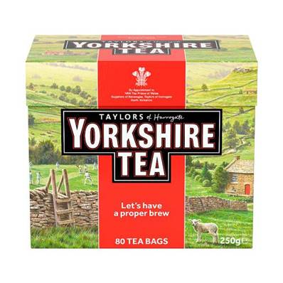 Taylors Yorkshire Tea Bags 80's