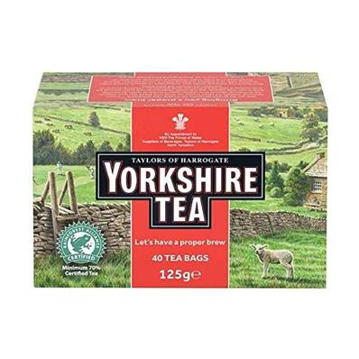 Taylors Yorkshire Tea Bags 40's