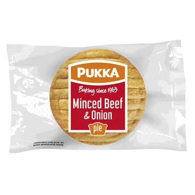 Pukka Pie Large Beef & Onion (BOX)
