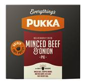 Pukka Pie Large Individually Wrapped Beef & Onion