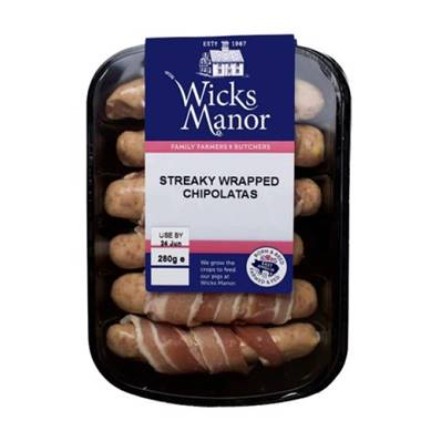 Kilted Sausages (Pigs in Blankets)