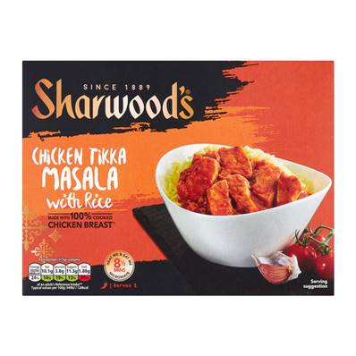 Sharwoods Chicken Tikka Ready Meal