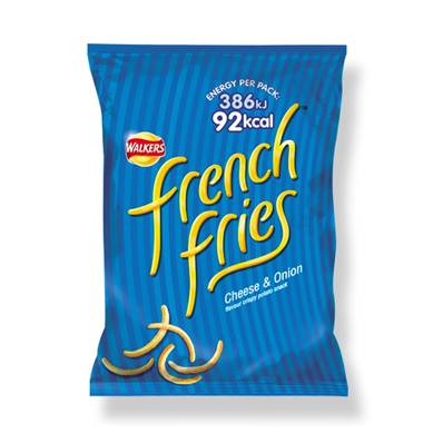 Walkers French Fries Cheese & Onion