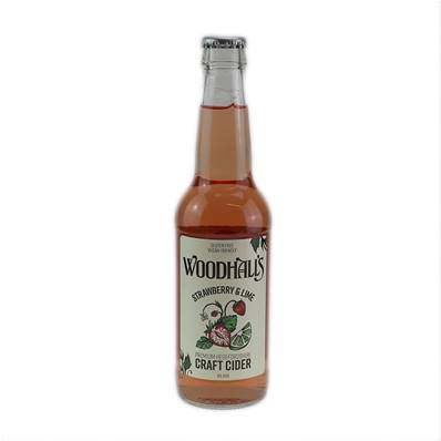 Woodhalls Strawberry & Lime Craft Cider (4%)