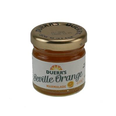 Duerrs Marmalade Glass Portion 24 x 42g