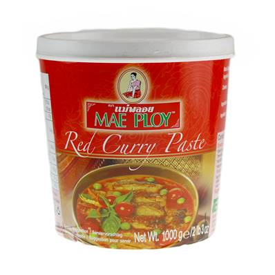 Mae Ploy Thai Red Paste