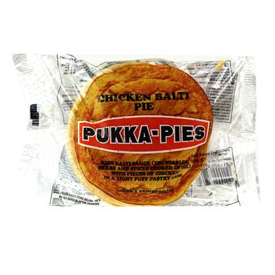 Pukka Pie Large Individually Wrapped Chicken Balti