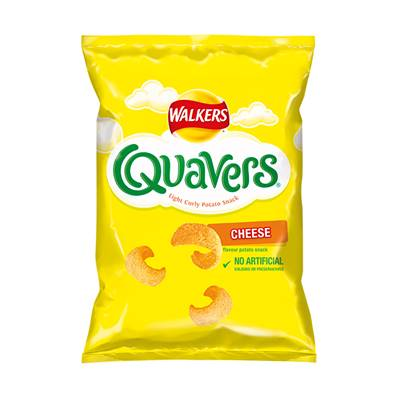 Walkers Quavers Box