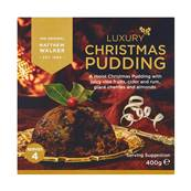 Matthew Walker Luxury Pudding