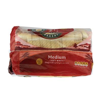 Roberts Medium Sliced White Bread