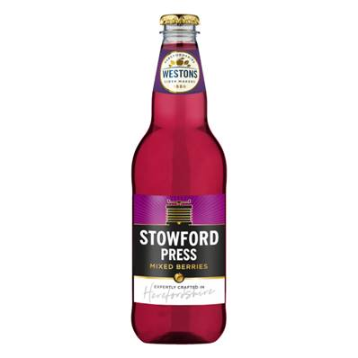 Stowford Press Mixed Berry Cider (4%)