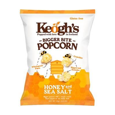 Keogh's Popcorn - Honey & Sea Salt