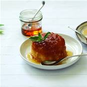 Gluten Free Syrup Sponge Pudding