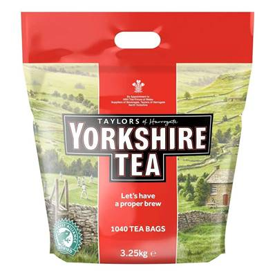 Taylors Yorkshire Tea Bags 1040's