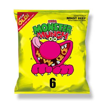 Monster Munch Mega Roast Beef Box