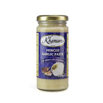 Khanan Minced Garlic Paste