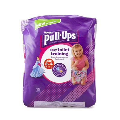 Huggies Pull-ups 2-4yrs (Girls)