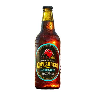 Kopparberg Alcohol Free Cider with Mixed Fruits