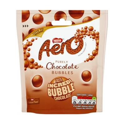 Aero Chocolate Bubbles Bag