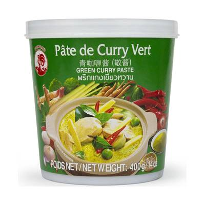 Mae Sri Vegetarian Thai Green Curry Paste