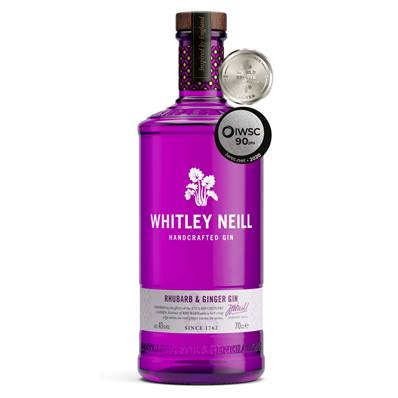 Whitley Neill - Rhubarb and Ginger Gin (43%)