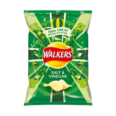 Walkers Salt & Vinegar Box