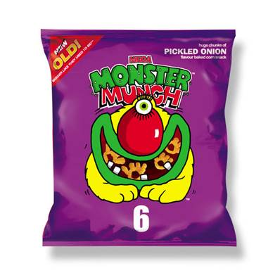 Monster Munch Pickled Onion Box
