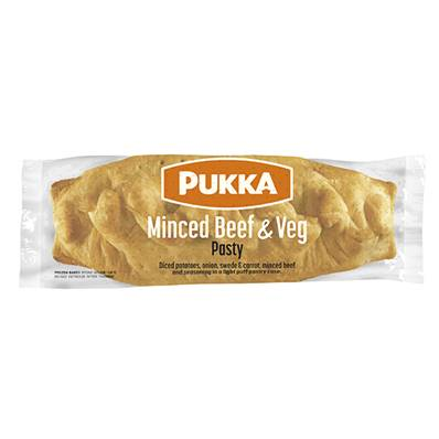 Pukka Large Stand-up Cornish Pasties