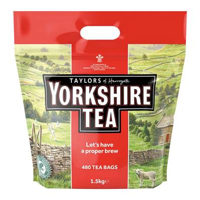 Taylors Yorkshire Tea Bags 480's