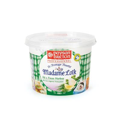 Madame Loic Soft Cheese (Garlic & Fine Herbs)