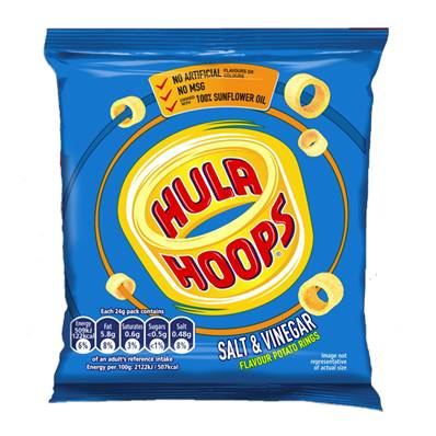 Hula Hoops Salt & Vinegar CASE