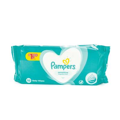 Pampers Baby Wipes - Fragrance Free