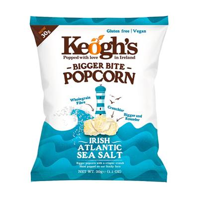 Keogh's Popcorn - Atlantic Sea Salt