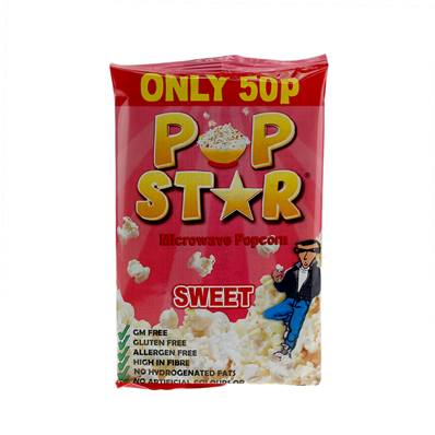 Pop Star Microwave Sweet Popcorn