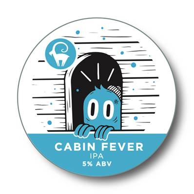 Ibex Brewery - Cabin Fever IPA (5%)