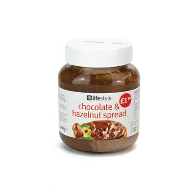 Lifestyle Chocolate & Hazelnut Spread