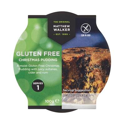 Matthew Walker Gluten Free Pudding