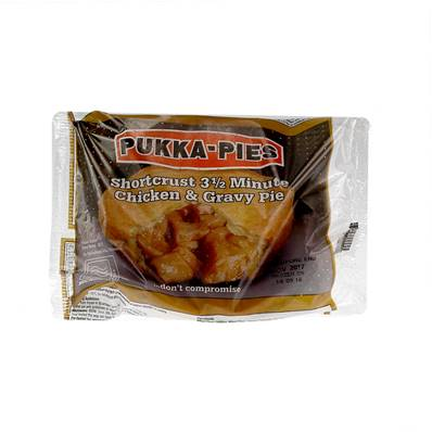 Pukka 3.5min Microwaveable Chicken Pie
