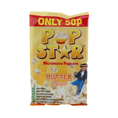 Pop Star Microwave Butter Popcorn