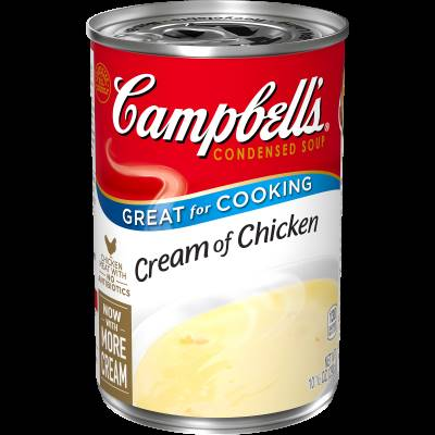 Campbells Condensed Chicken Soup