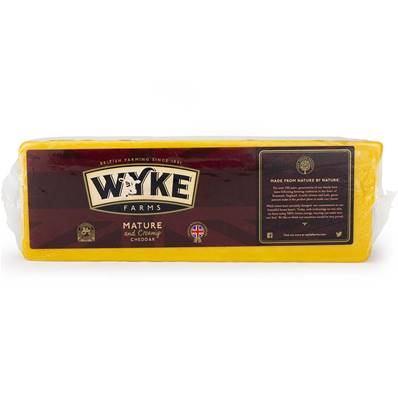Wyke Farms Mature Coloured Cheddar