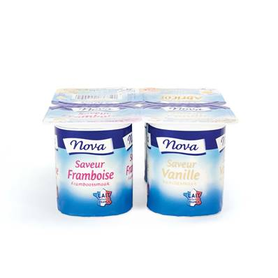 Mixed Fruit Flavour Yoghurt