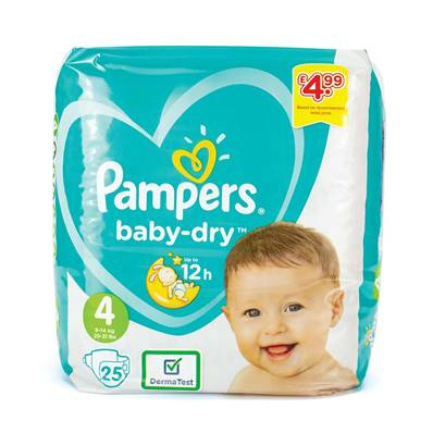 Pampers - Size 4