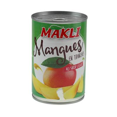 Tinned Sliced Mango